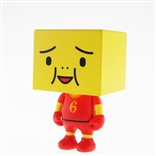 "Spain To-Fu World Cup Football 2"" Designer Vinyl Figure by Devilrobots"