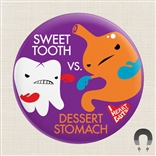 Sweet Tooth Vs Dessert Stomach! Colon Big Magnet I Heart Guts