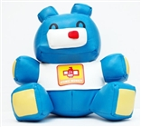 BLUE Tou Tou Teddy Figure designed by Joe Kwong/Atomic Monkey