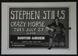 Stephen Stills and Crazy Horse Concert Poster - Randy Tuten