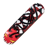 Twisted Skateboard Deck from artist MAD