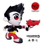 "Uncharted Nathan Drake ""Naughty Dog"" Colorway Vinyl Figure by Erick Scarecrow"