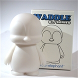 Waddle DIY Do-It-Yourself Designer Vinyl Mini Figure
