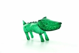 "Clear Green Chiko O.G. Waodog 3"" Sofubi Kaiju Japan Ultra Limited Edition Wao Dog Vinyl"