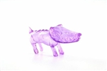 "Clear Purple Chiko O.G. Waodog 3"" Sofubi Kaiju Japan Ultra Limited Edition Wao Dog Vinyl"