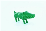 "Green Chiko O.G. Waodog 3"" Sofubi Kaiju Japan Ultra Limited Edition Wao Dog Vinyl"