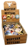 Western Button Box Badge Bomb 200 Pin Count
