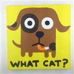 What Cat? Original Painting On Canvas By Artist Todd Goldman