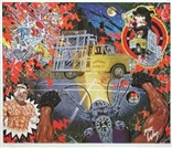 Hitting A Glass Truck At Midnight Poster Lowbrow Artist Robert Williams