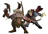 "World of Warcraft Premium Series 8 ""Brink"" Gnome Rogue vs. ""Snaggle"" Kobold Miner"