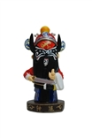 'Zhong Kui' (Figure M) Designer Resin Figure