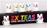 Box Set of 7 White Lunartik ZX Teas Super Infused Flavours Designer Vinyl Figures