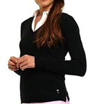 Golftini V-Neck Sweater Black