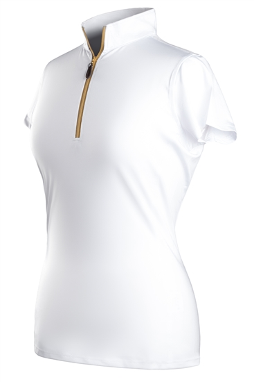 Coates Golf Short Sleeve Polos - White