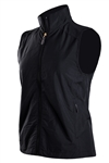 Coates Golf Wind Vest - Black