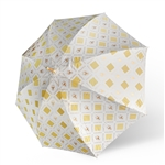 Coates Golf Designer Golf Umbrella - Cream