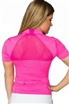 Flir-Tee Flirtee Mesh Inlay Golf Polo
