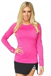 Flir-Tee Cutout Long Sleeve Top - 4 Colors