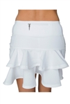 FlirTee Pleated Ruffle Golf Skort - 3 Colors