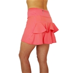 FlirTee Double Ruffle Golf Skirts