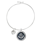 Dune Jewelry Beach Bangle - Anchor