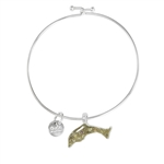 Dune Jewelry Beach Bangle - Dolphin
