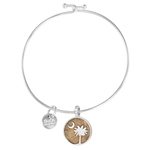 Dune Jewelry Beach Bangle - Palmetto Moon