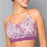 Denise Cronwall Mulberry Sport Bra Top