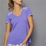 Denise Cronwall Short Sleeve Top - Serenity Breeze