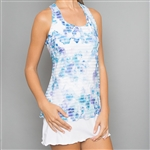 Denise Cronwall Trista Racerback Tennis Dress