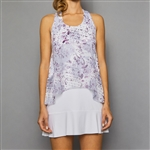 Denise Cronwall Tennis Dress - Rhapsody Print/White