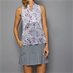 Denise Cronwall Golf Dress - Rhapsody Print/Grey