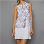 Denise Cronwall Golf Dress - Rhapsody Print/White