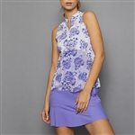 Denise Cronwall Golf Dress - Serenity Print/Lilac