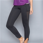 Denise Cronwall Inverted Pocket Legging Black