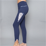 Denise Cronwall Inverted Pocket Edge Legging Nordica Blue
