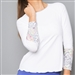 Denise Cronwall Edge Long Sleeve Top
