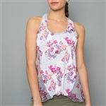 Denise Cronwall Layer Top - Army of Lovers, Floral