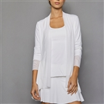 Denise Cronwall Cardigan - Pure White