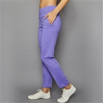 "Denise Cronwall 27"" Cropped Pant - Lilac"