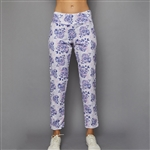 "Denise Cronwall 27"" Cropped Pant - Serenity Print"