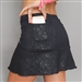 Denise Cronwall Villia Black Pocket Tennis Skort