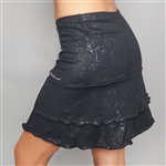 Denise Cronwall Villa Black Golf Skort