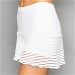 Denise Cronwall Grace Nordica White Tennis Skort