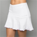 Denise Cronwall Solid Skort - Army of Lovers, White