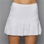 Denise Cronwall Tier Skort - Pure White