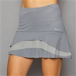 Denise Cronwall Tier Skort - Rhapsody Grey