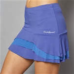 Denise Cronwall Tier Skort - Scotia Blue