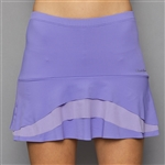 Denise Cronwall Tier Skort - Serenity Lilac