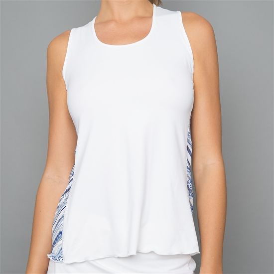 Denise Cronwall Nordica White Tank